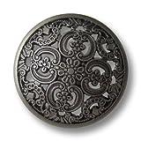 Knopfparadies – 8er Set Umwerfend schöne Metallknöpfe mit filigranem Durchbruchmuster