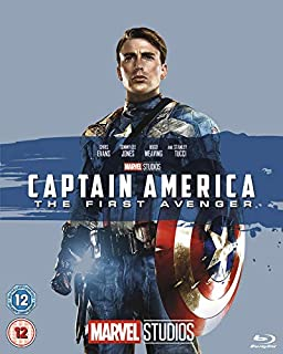 Captain America: The First Avenger [Blu-ray] [Region Free] (B00F3TCFAQ) | Amazon price tracker / tracking, Amazon price history charts, Amazon price watches, Amazon price drop alerts
