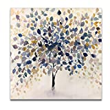 WEXFORD HOME Past Autumn Canvas Prints Wrapped Gallery Wall Art   Stretched and Framed Ready to Hang, 24x 24