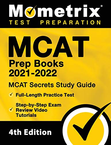 MCAT Prep Books 2021-2022 - MCAT Secrets Study Guide, Full-Length Practice...