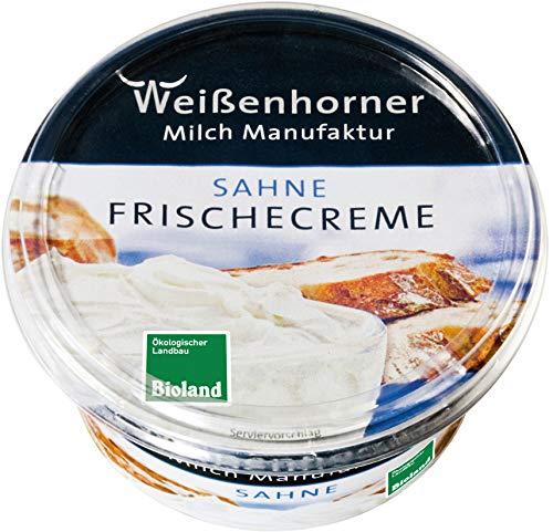 Weißenhorner Milch Manufak Bio WH MM Bioland FrischeCreme Sahne (6 x 150 gr)