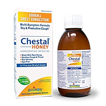 Boiron Chestal Honey Adult Cough Syrup 6.7 Fl Oz  Pack of 1  Homeopathic Medicine for Cough and Chest Congestion