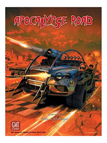 GMT Games GMT2012 Apocalypse Road Board Game