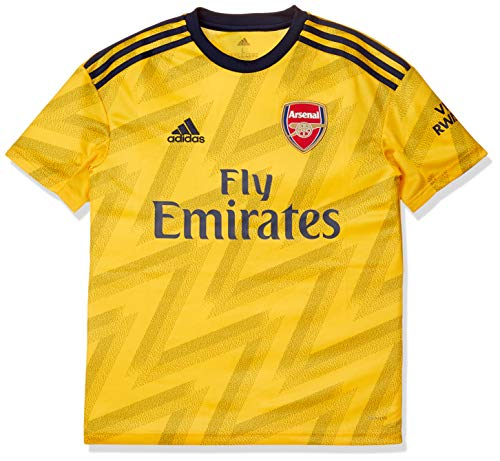 adidas Kinder Trikot Arsenal FC Away Jersey 2019/20, EQT Yellow, 128, EH5656