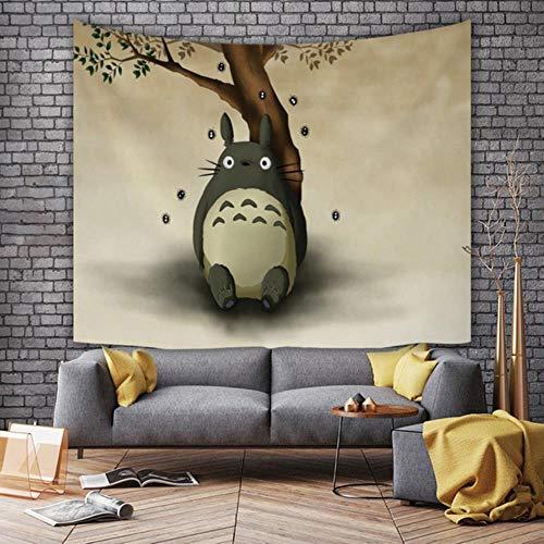 Tela para colgar de dibujos animados de Anime, tela de fondo para la cabecera de la habitación de los niños, tela roja para decoración de dormitorio, tapiz de pared, 95 * 73 cm