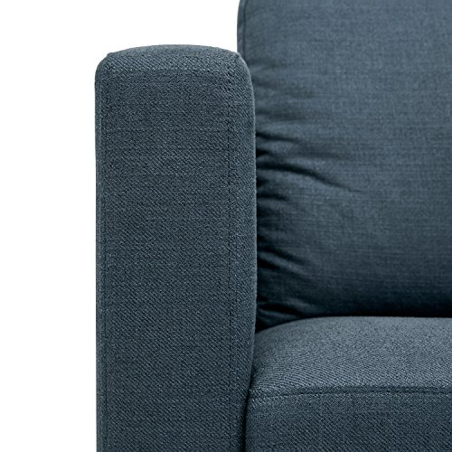 Amazon Brand – Rivet Revolve Modern Upholstered Sofa