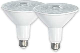 ECOL Commercial Grade-PAR38 LED -Flood Light Bulb, IP65 Indoor and Outdoor Use,20W (150W+ Equivalent), 2000lm, 5000K Cool White, 40 Degree Beam Angle, Medium Base(E26), Spotlight-2PCS/PACK