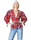 find. Blusa Estilo Kimono para Mujer , Multicolor (Multicoloured Mpr 301), 38 (Talla del Fabricante: Small)