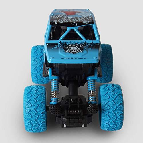 LQZCXMF Mini Double Pullback Bigfoot Off-Road Vehicle Amortiguador Kids Climbing Car Model Toy RC Car Tiene una excelente Potencia y Capacidad de Escalada de Alta Velocidad es un Regalo de cumpleaños
