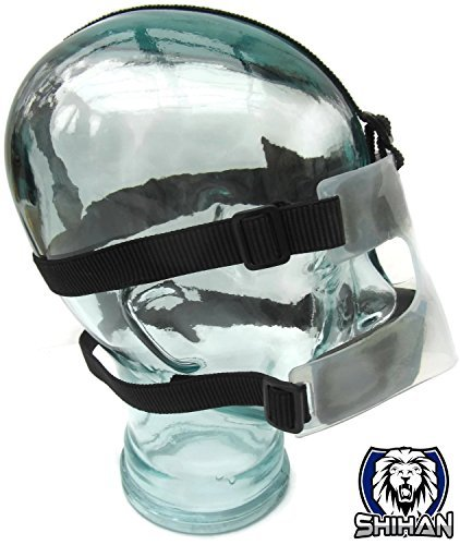 Shihan Nose Guard Cage Fighting BJJ MMA Grappling,Wrestling, Rugby, Judo Marines Budo Training Protects Broken Nose Soccer