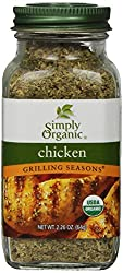 Simply Organic Organic Grilling Seasons Chicken Seasoning Certified Organic 226-Ounce Container