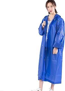 日系环保材质磨砂半透明雨衣男女户外徒步全身时尚性感