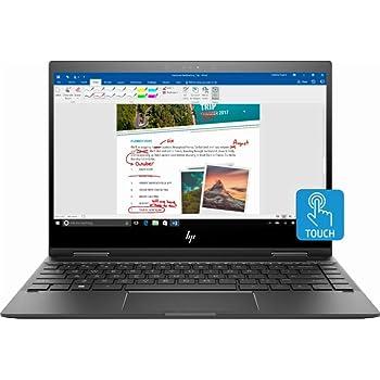 "HP Envy x360 2-in-1 13.3"" FHD Touch-Screen Premium Build Laptop Computer, AMD Ryzen 5 2500U up to 3.6GHz, 8GB RAM, 128GB SSD, WiFi, Bluetooth, Windows 10"