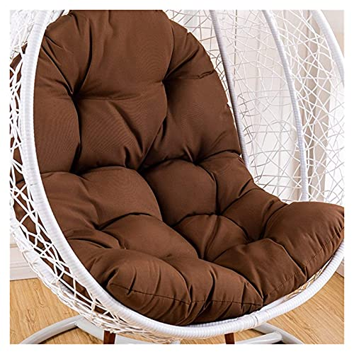 AFKK Swing Chair Kissen Wiege Hängende Stuhl Back Pads Dicke Eierstuhl Kissen Recliner Schaukelstuhl Dekorative Kissen, 125 * 95Cm,E