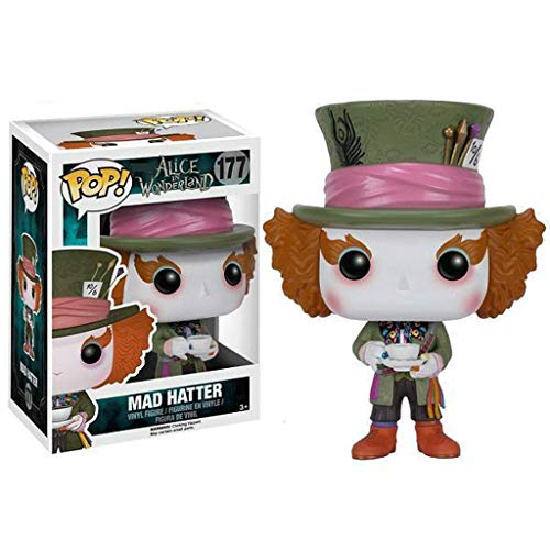 Funko Pop Movies : Alice in Wonderland - Mad Hatter#177 3.75inch Vinyl Gift for Fairy Tale Fans SuperCollection