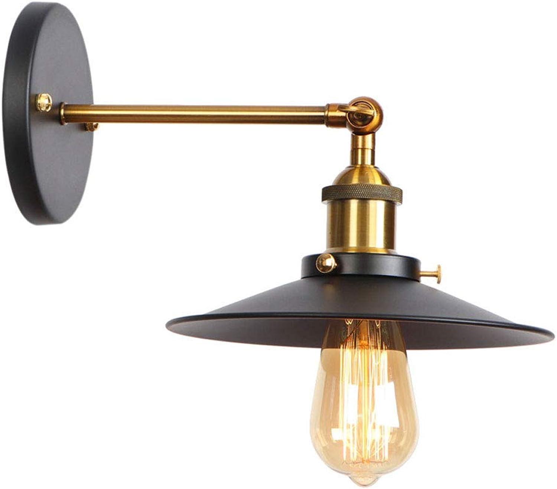 SPA  Postmodern Verstellbare Wandleuchte aus Schmiedeeisen Kreative Schwingarm-Wandleuchte aus Metall Schlafzimmer Bedside Study Wandlampe lesen Hohe Helligkeit E27 Edison Wandleuchte (Gre  Stil c)