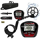 DR.ÖTEK Lightweight Metal Detector for Adults & Kids,Professional Waterproof Metal Detector Gold and Silver,Higher Accuracy, Bigger LCD Display,Strong Memory Mode,10' IP68 Coil,Upgrade DSP Chip