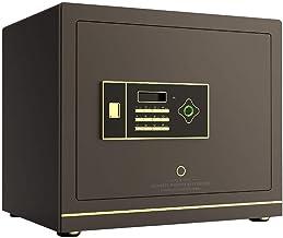 Safe Smart Fingerprint Unlock Safe Home Office Storage Box National Bedroom Bedside Table Storage Box Gift (Size : 37 * 4...
