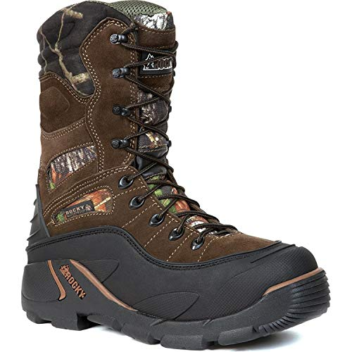 ROCKY Men's Blizzard Stalker PRO W'proof Insulated Boot-5452 (Men's Whole 13) Brown