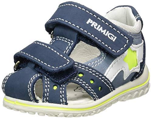 Primigi Sandalo Primi Passi Bambino, Blu (Azzurro/Azzurro 5365722), 18 EU
