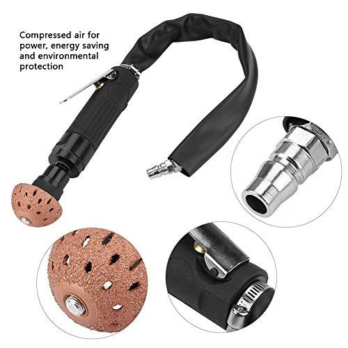 Bandenreparatiegereedschap, 2500 omw/min kleine pneumatische bandpolijstschijf reparatie slijpkop polijstmachine bandenreparatie schuurgereedschap