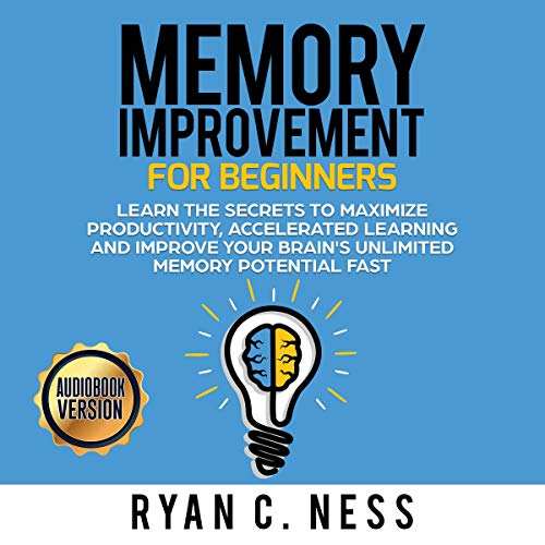 Memory Improvement for Beginners audiobook cover art