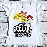 Jessie Cowgirl Toy Story personalized Birthday tee shirt