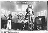 Póster Led Zeppelin Earls Court, May 1975 (84,1cm x 59,4cm) + 1 Póster con Motivo de Paraiso Playero