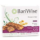 BariWise Protein Bar/Diet Bars - Peanut Butter & Jelly (7ct), High Protein, Trans Fat Free,...