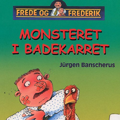 Monsteret i badekarret audiobook cover art