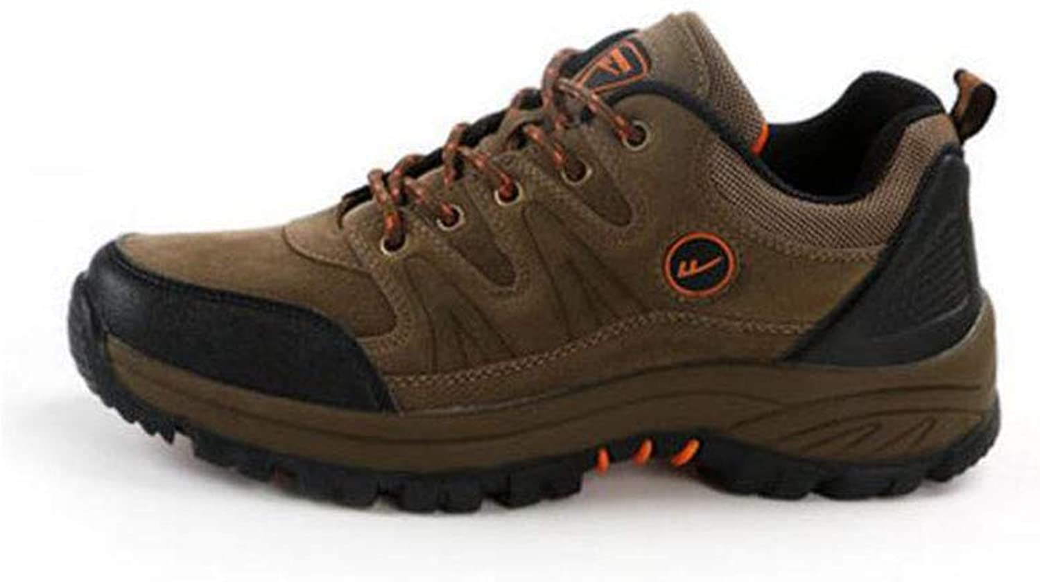 FH Men's shoes Hiking shoes Autumn Dad shoes Waterproof Non-Slip Outdoor Casual Sports shoes Sneakers