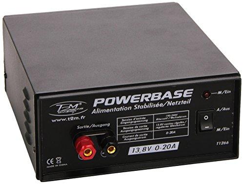 T2M Powerbase 13,8V / 20A 12V voeding T1266
