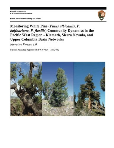 Monitoring White Pine (Pinus albicaulis, P. balfouriana, P. flexilis) Community Dynamics in the Pacific West Region- Klamath, Sierra Nevada, and Upper Columbia Basin Networks: Narrative Version 1.0