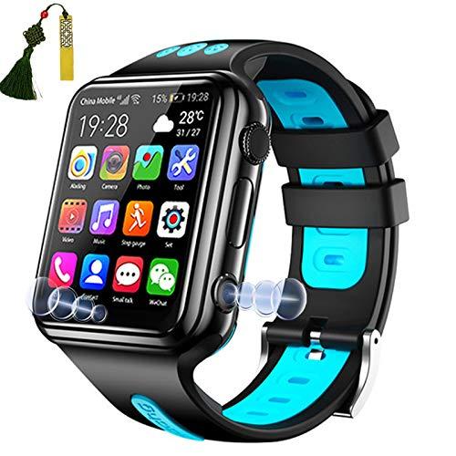 Smartwatch Per Bambini Ragazzi Ragazze GPS 4G Wifi Doppia Fotocamera 1,54   Touchscreen HD IP67 Impermeabile Sos Sveglia Chat Video Vocale Localizzatore Di Monitoraggio Regali Compleanno Natale,Blu