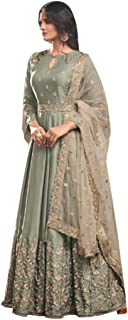 Designer Collection Embroidered Zari Hand work Indian Anarkali Salwar Suit Ethnic wear women gown Ceremony Muslim 761 1