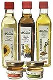 Farm Naturelle- 3 Oils Organic Cold Pressed Virgin (Kachi Ghani) Mustard Oil, Groundnut