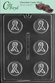 Cybrtrayd M225 Awareness Ribbon Cookie Miscellaneous Chocolate Candy Mold