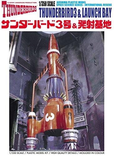 1/350 Thunderbird Series No.14 Thunderbird n ° 3 et la base de lancement
