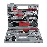 Cocoarm Fahrrad Werkzeugkoffer Werkzeug Set, Fahrradwerkzeug für Fahrrad Montagearbeiten und Reparaturen, 44-teiliges Werkzeugset mit Tragekoffer und Multitool