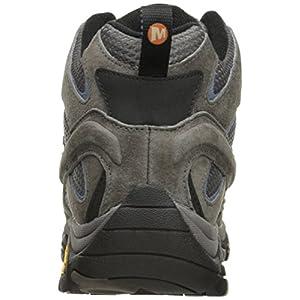 Merrell Women's Moab 2 Mid Waterproof Hiking Boot, Granite, 9.5 W US