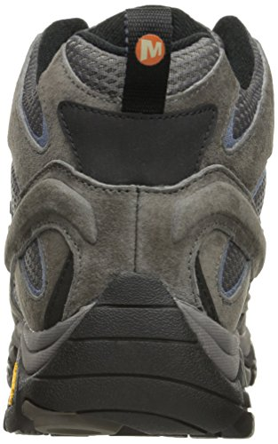 Merrell Women's Moab 2 Mid Waterproof Hiking Boot, Granite, 9 M US Indiana