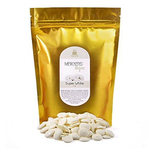 Candy Chocolate, Super White, 1 lb Bag