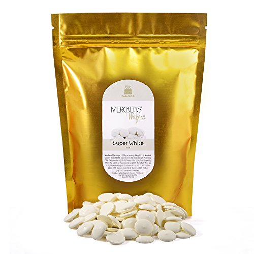 Candy Chocolate, Super White, 1 lb Bag