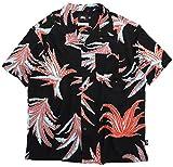 [ステューシー] シャツ 半袖 メンズ Cactus Rayon サイズS ブラック [並行輸入品]