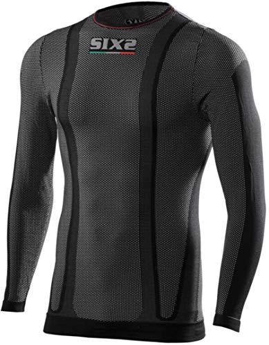 SIXS 1240726 T-Shirt Manica Lunga Tessuto Original Carbon Underwear Taglia M