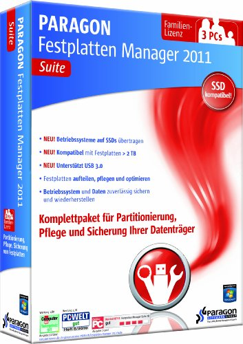 Preisvergleich Produktbild Paragon Festplatten Manager 11 Suite