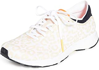 Women's Adizero Adios Sneakers, Soft Apricot/Solar Orange, 9.5 Medium US