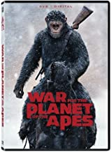Best war of the planet of the apes dvd Reviews