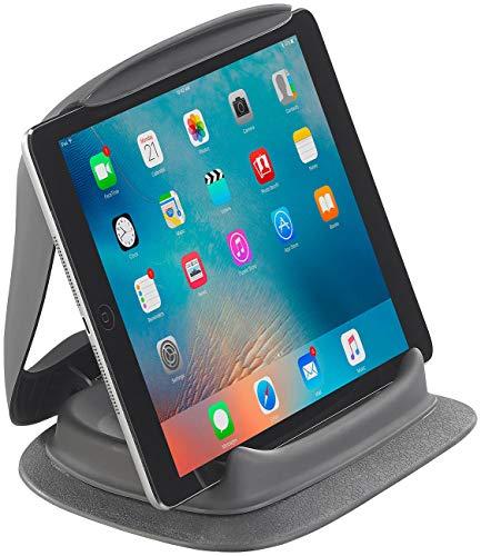 Lescars Tablethalterung Kfz: Tablet-Halterung fürs Armaturenbrett, Geräte bis 19 cm Breite (7