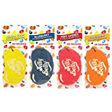 4 x Assorted Jelly Belly 2D Cardboard Car Air Freshener Set - Cherry